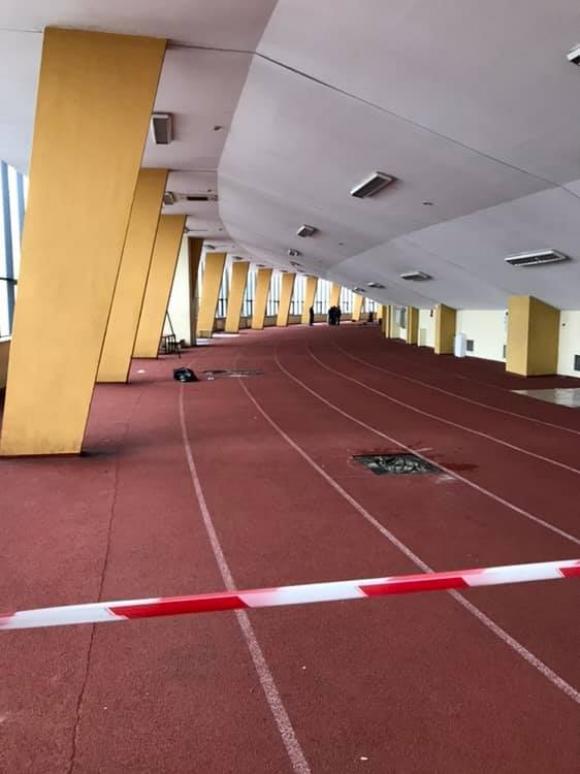 Отново протече атлетическата писта на Националния стадион
