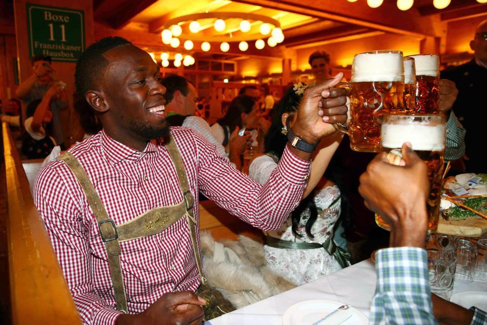 Юсейн Болт отново е гост на Октобърфест в Мюнхен