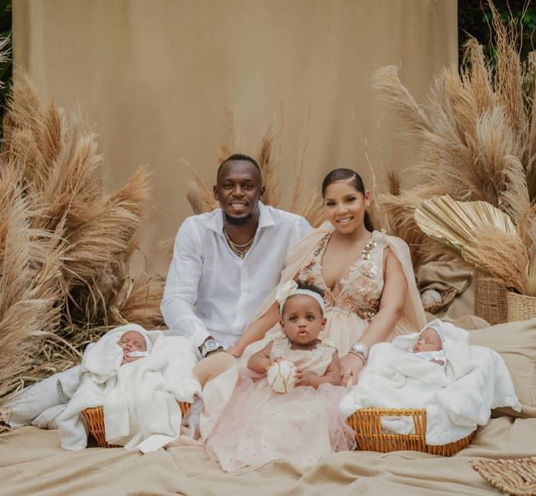 Юсейн Болт стана баща на близнаци